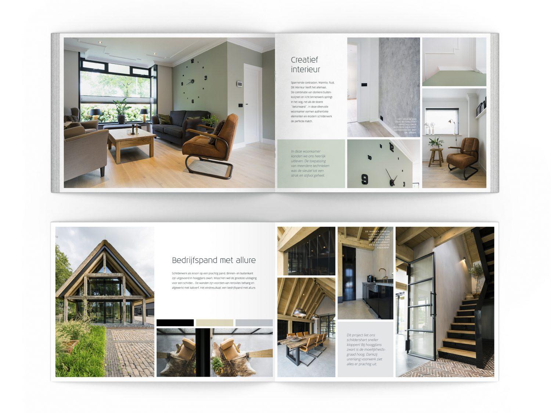 Brochure magazine ontwerp webdesign grafische vormgeving en